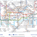 London Underground Tube Map & a Few Helpful Tips!