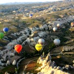 Istanbul to Cappadocia, Turkey: Overnight Bus, Hot Air Balloon Ride, Cave Hostel